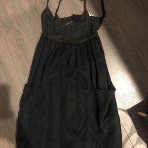 Aritzia Wilfred size two spaghetti strap dress